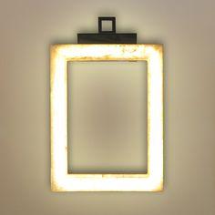 UFFIZI AP - Applique murale LED Marbre H35cm Contardi