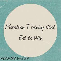 Marathon Training Diet