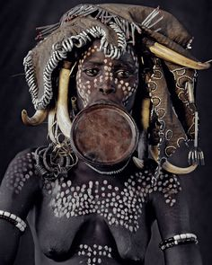 Mursi Tribe - Ethiopia by Jimmy Nelson