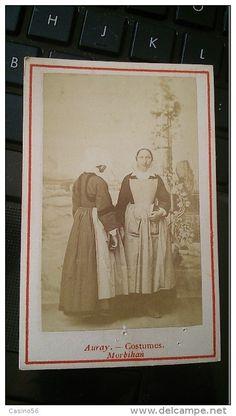 Anciennes (Av. 1900) - photo CDV COSTUME BRETAGNE AURAY