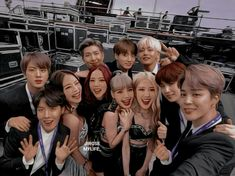 Stay With Me~ Bts×Blackpink Bts Group Photos, Blackpink Photos, Bts Pictures, Bts Girl, Bts Boys, Kpop Couples, Cute Couples, Bts Taehyung, Bts Jimin