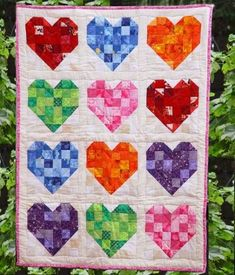 Heart quilt.
