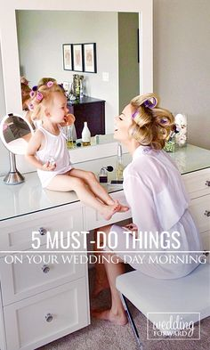 It's wedding day morning, end of planning, but there are things you need to remember. ❤ Keep Reading: http://www.weddingforward.com/must-wedding-day-morning/ ... Photo Credit: kateandnatesail.blogspot.ca
