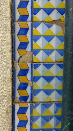 Azulejos in Lisbon