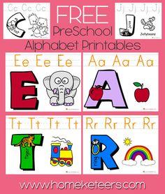 ABC Preschool Printable FREE