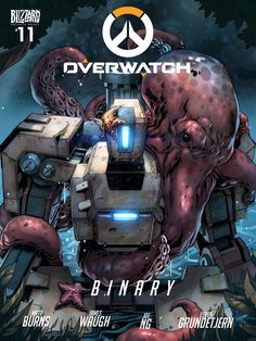 Overwatch   Binary - Episode 11  In rural Sweden, a terror from the past has reemerged. The locals have spotted a Bastion roaming the woods, and they know it's only a matter of time before the dangerous omnic tries to destroy them.  Written by: Matt Burns and James Waugh Art by: Joe Ng Color by: Espen Grundetjern