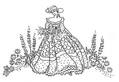 Sunhat and garden Hungarian Embroidery, Embroidery Sampler, Folk Embroidery, Embroidery Transfers, Modern Embroidery, Hand Embroidery Patterns, Vintage Embroidery, Ribbon Embroidery, Cross Stitch Embroidery