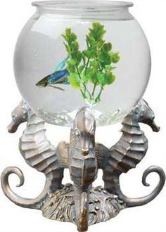 Aquarius OT1002 Betta Treasures 1-Gallon Sea Horses Aquarium