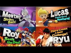 Smash Bro Wii U All Character Final Smash 8 Player (DLC Included)! - YouTube