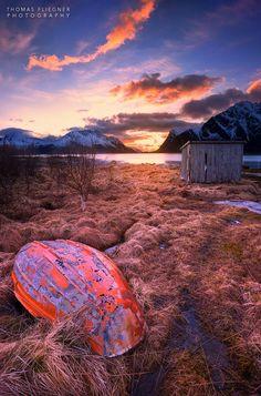 Lofoten sunset ~ Norway by Thomas Fliegner on 500px