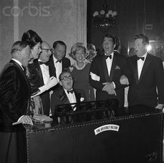 with Irving Berlin at the piano