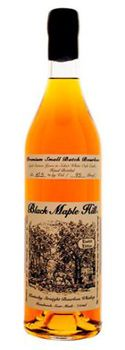 Top 10 Bourbon  On the palate, Black Maple Hill is sweet as Bourbons can be, but in a masculine sort of way, like maple syrup enjoyed by a lumberjack. It has a supple mouthfeel, filling the mouth with sweet and satisfying honey-tinged flavor, and a finish that seems to never end. It's so smooth, there's no need for ice. Despite its 95-proof strength, there's not a hint of burn even when enjoyed neat. We can't wait to meet her 21-year-old sister.     Price: $125