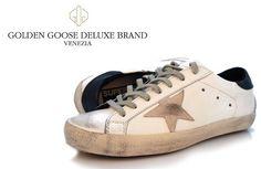 Golden Goose Deluxe Brand Superstar - White Navy