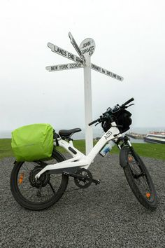 Riding from Lands end to John O'groats on an A2B Obree. September 2014