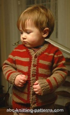 Knitting Patterns Galore - Child's Top-Down Seamless Cardigan with Set-In Sleeves Baby Boy Knitting Patterns, Knitting For Kids, Knitting Stitches, Free Knitting, Free Crochet, Toddler Cardigan, Baby Boy Cardigan, Knit Baby Sweaters, Boys Sweaters