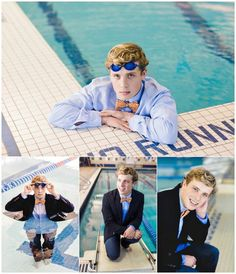 Senior Swim pictures for a senior swimmer. Photo credits to Kim Torres Photography, San Angelo Texas