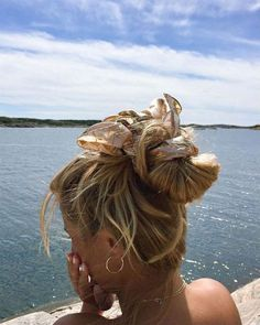 Cute Bandana Hairstyles, Scarf Hairstyles, Messy Hairstyles, Summer Hairstyles, Pretty Hairstyles, Beach Hairstyles For Long Hair, Wedding Hairstyles, Princess Hairstyles, Holiday Hairstyles