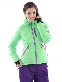 9a03e0a39887 Dámska lyžiarska bunda - Dámske lyžiarske bundy - Dámske bundy a vesty - Dámske  oblečenie -