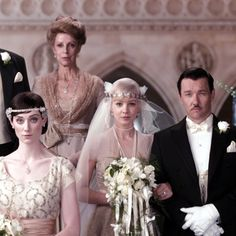 It's no wonder The Great Gatsby helped incite a 1920s-inspired bridal revolution. Many recent brides have drawn inspiration for their big day from Daisy Buchannan's (Carey Mulligan) glam gown complete with art-deco details and a streamlined silhouette.