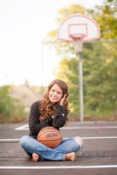 girls basketball senior picture ideas - Google Search