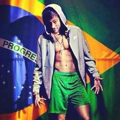 In fact, he seems to have developed a very strict anti-shirt policy, which is probably the best policy any person who looks like Neymar could adopt. | For Everyone That's Obsessed With The Brazilian Perfection That Is Neymar