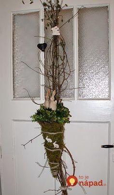 31 prekrásnych nápadov, ako si na Veľkú noc vyzdobiť vchodové dvere a verandu!