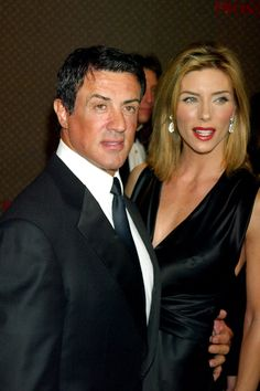 Sylvester Stallone with his wife, true love, class, Sly Stallone