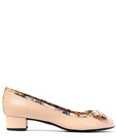 French Sole by Appointment to Liberty Natural Leather Nicola Heel