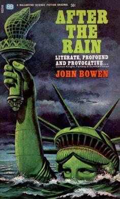 scificovers:  Ballantine U2248: After the Rainby John Bowen 1965. Cover art by John Blanchard.