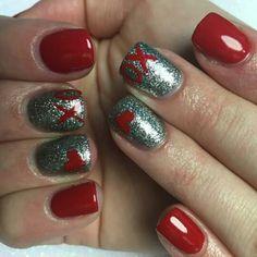 Xoxo. Valentine nails