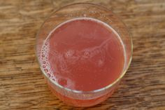 Fermented Rhubarb + Honey Soda