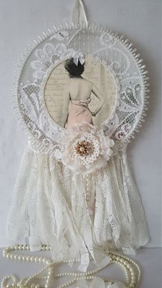 Check out this item in my Etsy shop https://www.etsy.com/uk/listing/236206217/ballerina-dreamcatcher-shabby-chic