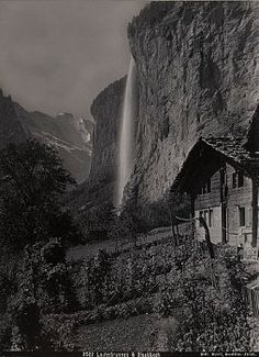 Lauterbrunnen 1920 National Geographic