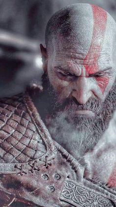 Foto Gta 5, God Of War Series, War Tattoo, King Ragnar, Kratos God Of War, Spartan Warrior, Weapon Concept Art, Viking Tattoos, Gaming Wallpapers