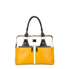 Modalu Pippa Medium Yellow Mix Por Handbags Handbag Patterns Middleton Handmade