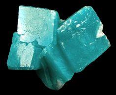 Aurichalcite in Calcite from Ojuela Mine, Mapimi, Durango, Mexico [db_pics/new09/aur11a.jpg]