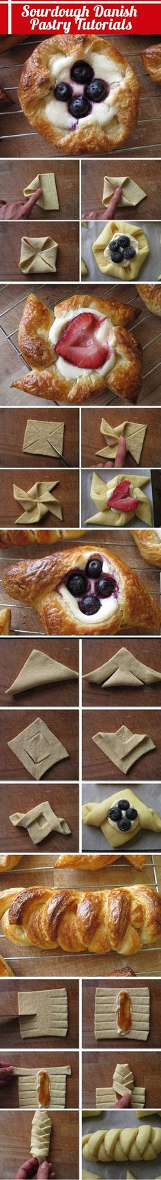 Mmm! Berry Danish