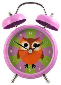 This Purple Owl Talking Alarm Clock by Streamline is perfect! Talking Alarm Clock, Alarm Clocks, Cuckoo Clocks, Owl Clock, Happy Owl, Purple Owl, Owl Always Love You, Owls, Barn Owls