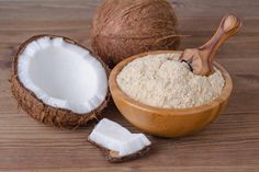 Why Coconut Flour Is the Best Substitute for White Flour: Nutrition, Benefits and What Is Coconut Flour, Baking With Coconut Flour, Low Fat Diets, No Carb Diets, Coconut Flour Nutrition, Cocada Low Carb, Bolos Low Carb, Smoothie Vert, Types Of Flour