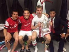 Yes! The Arsenal ...Brilliant winners FA Cup 2014