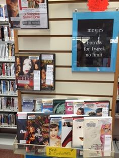 Display Movies with the Best Costumes at Plainville Public Library