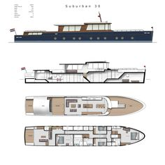 Yacht Design, Boat Design, Speed Boats, Power Boats, Tuna Boat, Canal Barge, House Architecture Styles, Classic Yachts, Boat Projects