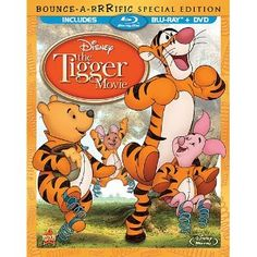 The Tigger Movie: Bounce-A-Rrrific Special Edition (Two-Disc Blu-ray/DVD  Combo in Blu-ray Packaging) (Walt Disney)