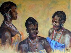 Femmes Bassari - Sénégal