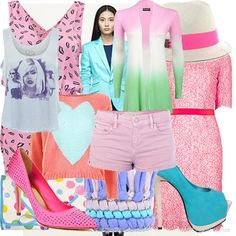 Pastel mix | Women's Outfit | ASOS Fashion Finder