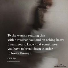To The Woman Reading This With A Restless Soul - https://themindsjournal.com/to-the-woman-reading-this-with-a-restless-soul/