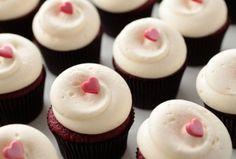 Wedding favors- Georgetown cupcakes Chris used to wooooooo me...RED VELVET!!!