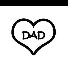 I love my dad!!!