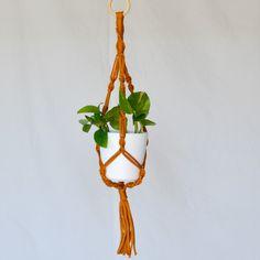 Makraméampel liten Second Hand, Plant Hanger, Plants, Home Decor, Threading, Pictures, Decoration Home, Room Decor, Plant