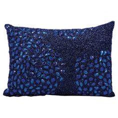 Maisie Pillow in Navy